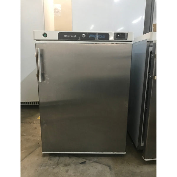Used Blizzard L200SS under counter commercial freezer front