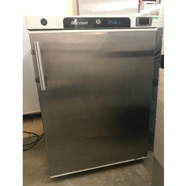 Used Blizzard H200SS under counter commercial fridge front