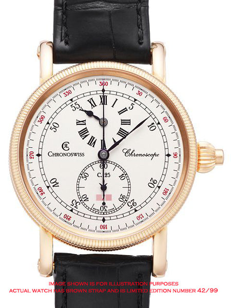 Chronoswiss Chronoscope Limited Edition - 18ct Rose Gold - CH1521R
