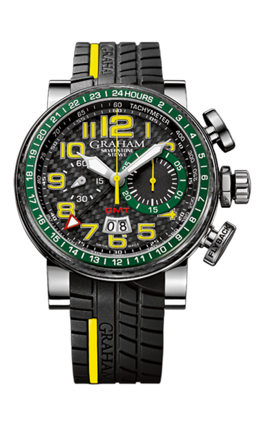 Graham Silverstone Stowe GMT Limited Edition - Steel - 2BLCH.B33A