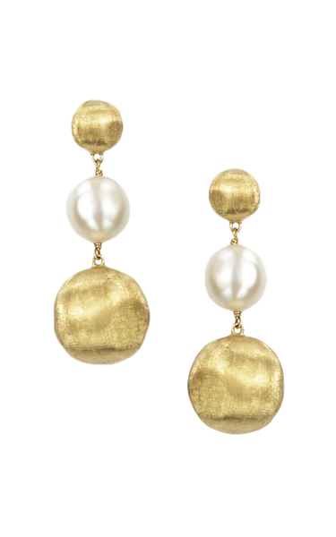 Marco Bicego Africa Drop Earring - 18ct Yellow Gold - OB1027 PL01