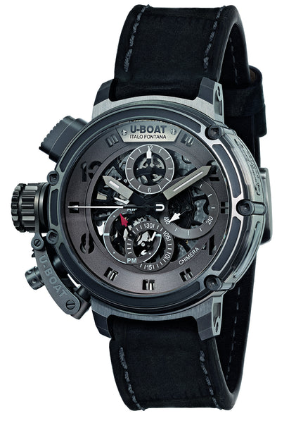 U-Boat Chimera Skeleton Titanio (Limited Edition) - Titanium - 8066