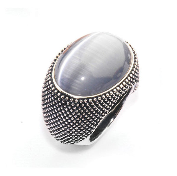 Pesavento Pixel Ring - Silver/Old Black - WPXLA084