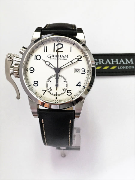 Graham Chronofighter 1695 - Steel - 2CXAS.S02A