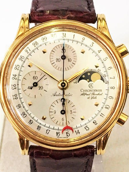 Pre Owned Chronoswiss Alfred Rochat & Fils - Gold Plated - 77990