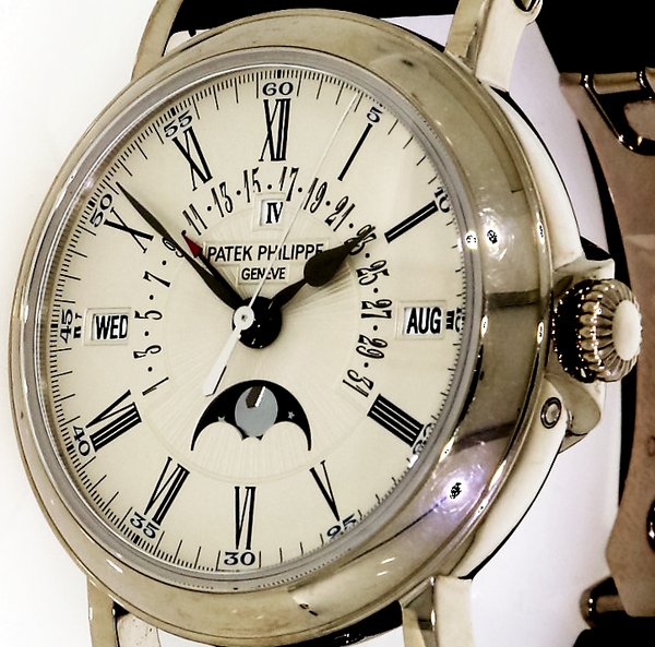 Patek Philippe  Grand Complication Perpetual Calendar - 18ct White Gold - 5159G-001