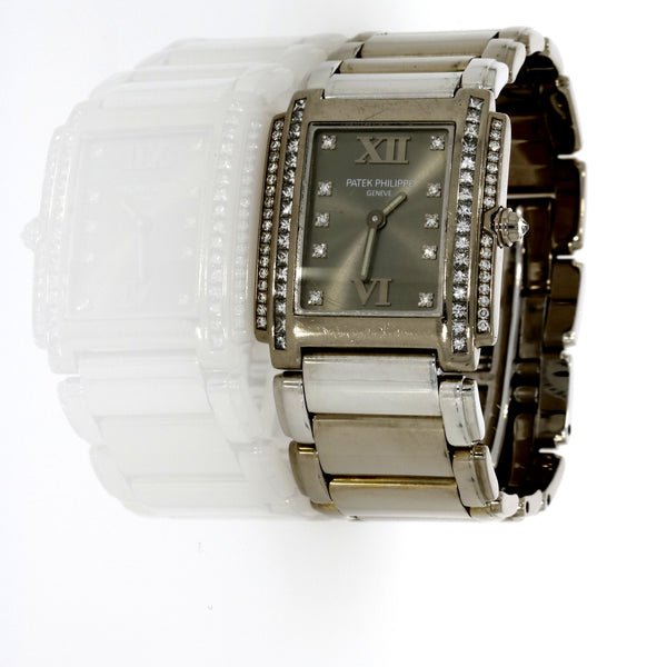 Patek Philippe Twetny-4 - 18ct White Gold - 4910/20G