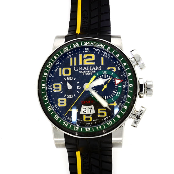 Graham Silverstone Limited Edition Stowe GMT - Steel - 2BLCH.B33A