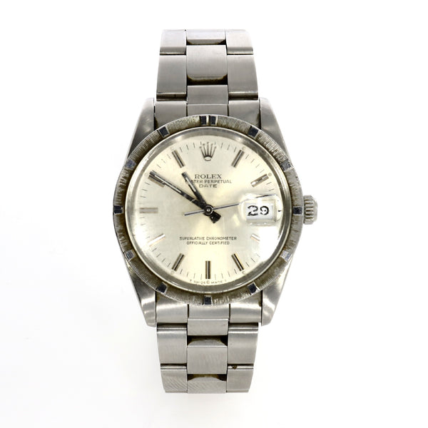 Rolex Oyster Perpetual Date - Steel - 15010