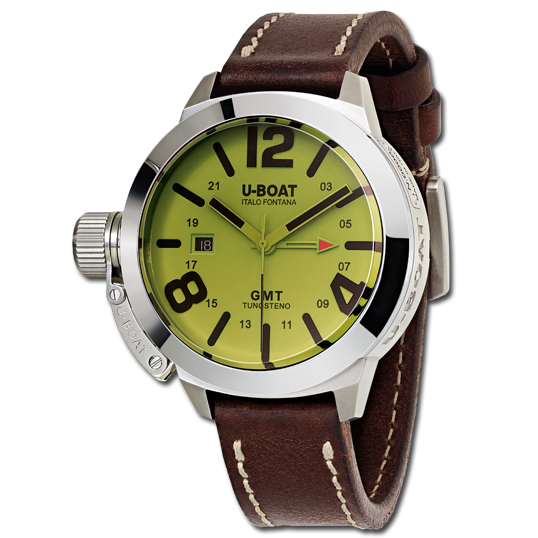 U-Boat Classico GMT BE - Steel - 8051