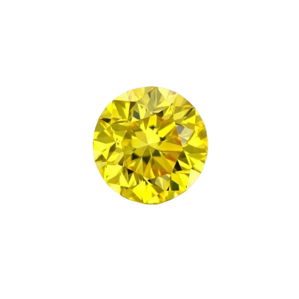 10.03ct Brilliant Cut Yellow Diamond