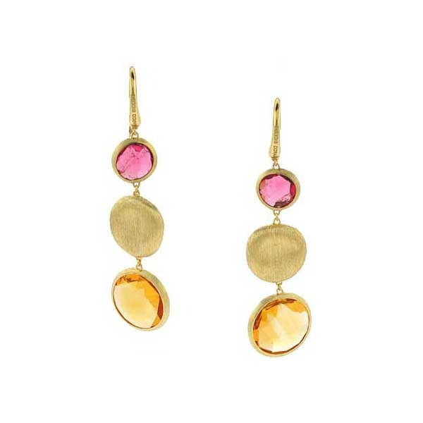 Marco Bicego Jaipur Earrings - 18ct Yellow Gold - OB851 MIX07