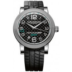 Graham Silverstone Time Zones Mercedes GP Edition - Steel - 2MECS.B03A