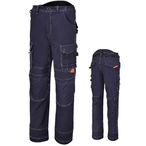 Beta 7816BL Canvas Work Trousers
