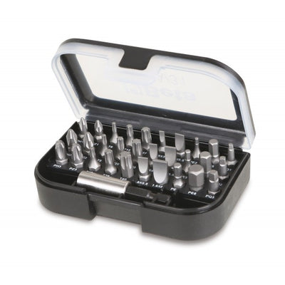 860EA/31 Set 30 Screwdriver Bits with Magnetic Holder Beta Easy