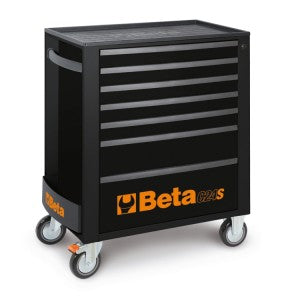 Beta toolboxes C24S/7 Mobile Cab Special Edition Black