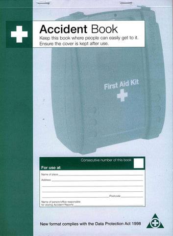 ACCIDENT BOOK DPA COMPLIANT  CM1324