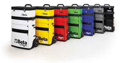Beta toolboxes C41H two-module tool trolley Beta