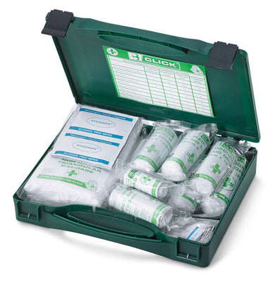 CLICK MEDICAL 10 PERSON FIRST AID KIT CM0010