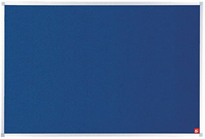 Noticeboard with Fixings and Aluminium Trim W1200x900mm  Blue