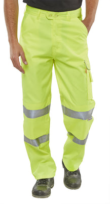 P/COTTON TROUSERS EN ISO 20471 S/Y PCTENSY