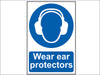 Wear Ear Protectors - PVC 200 x 300mm SCA0005