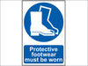 Protective Footwear Must Be Worn - PVC 200 x 300mm SCA0016