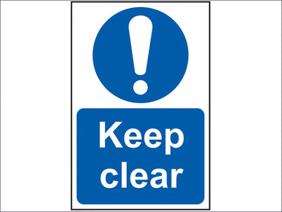 Keep Clear - PVC 200 x 300mm SCA0253