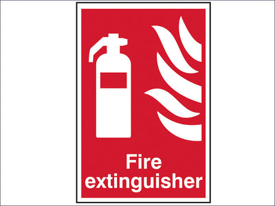 SCA1350 Fire Extinguisher - PVC 200 x 300mm
