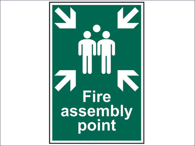 Fire Assembly Point - PVC 200 x 300mm SCA1541