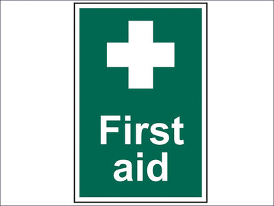 SCA1550 First Aid - PVC 200 x 300mm