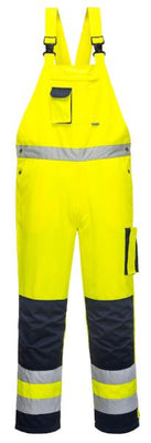 Portwest TX52 - Dijon Hi-Vis Bib and Brace