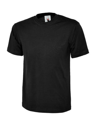 T-Shirt UC301 with Logo Black
