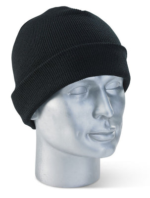 WHBL WATCH BEENIE HAT BLACK with IPL Logo.