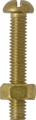 AB4 - Assortment Box of Machine Screws with Nuts, Round Head, Slotted - BA