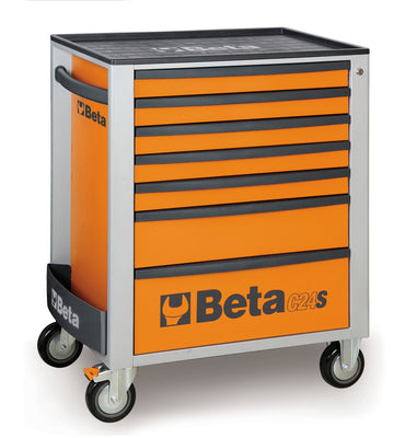 Beta toolboxes C24S/7 Mobile roller cab with seven drawers