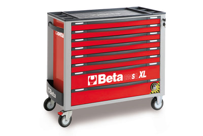 Beta toolboxes C24SA-XL/8 - Mobile roller cab with eight drawers