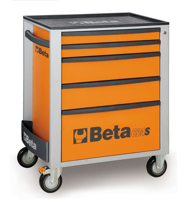 Beta toolboxes C24S/5 Mobile Roller Cab 5 Drawer