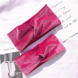 Velvet wrap headbands - CHILD & ADULT