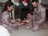 CANDY CANE satin pyjamas - ADULT