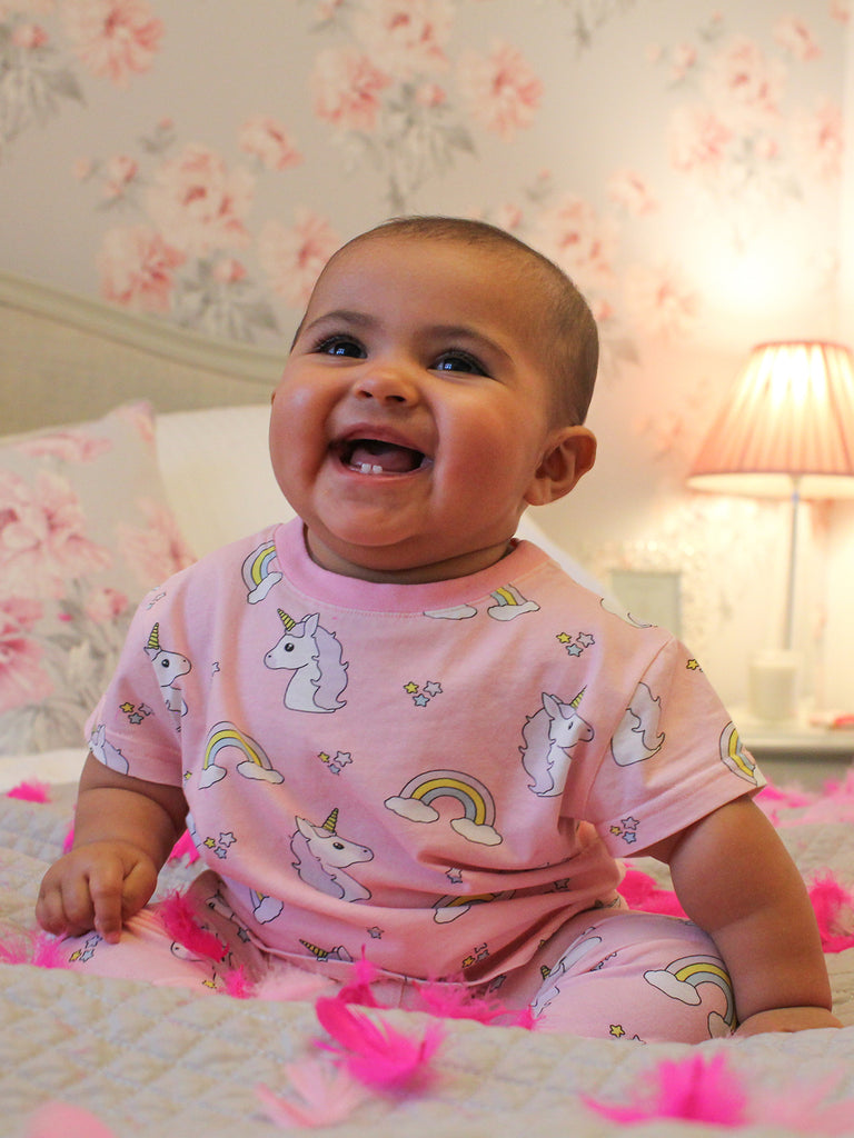 Pink unicorn pyjamas - CHILD