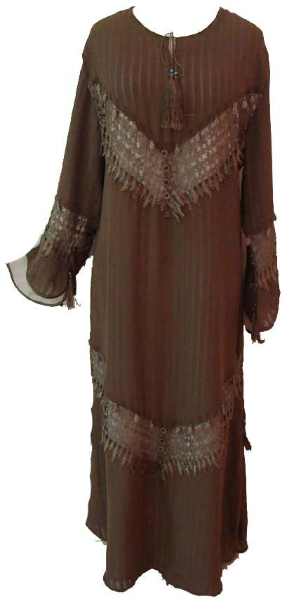 Omani Fancy Abaya - Muslim clothing for women