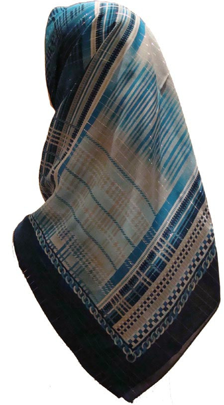 """Aurora Views"" Turkish Scarf - Muslim Clothing"