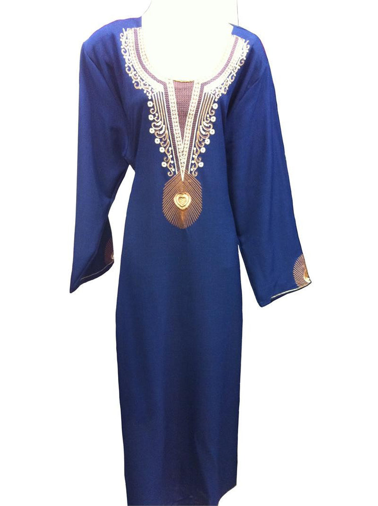 Classic Sparkle Arabic Thobe for Ladies - Islamic Clothing