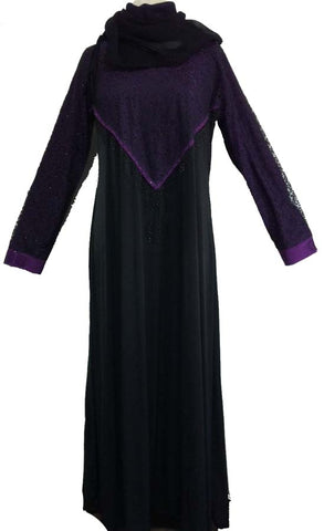 Lycra Abaya with Umbrella Flare