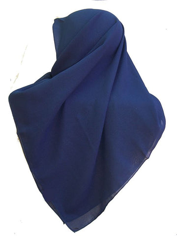 Georgette Fine Scarves for muslim women