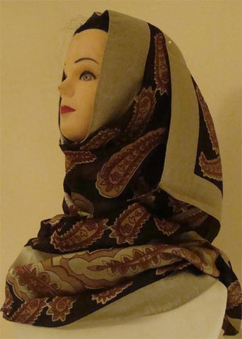 polyester shawl and hijab for Muslimah