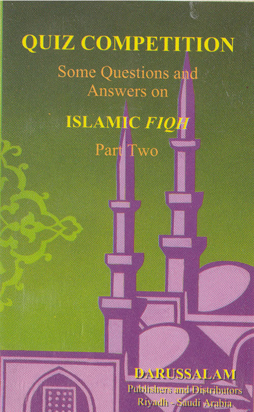Quiz Competition Cards on Islamic Fiqh (Part 2) - Arabic Islamic Shopping Store