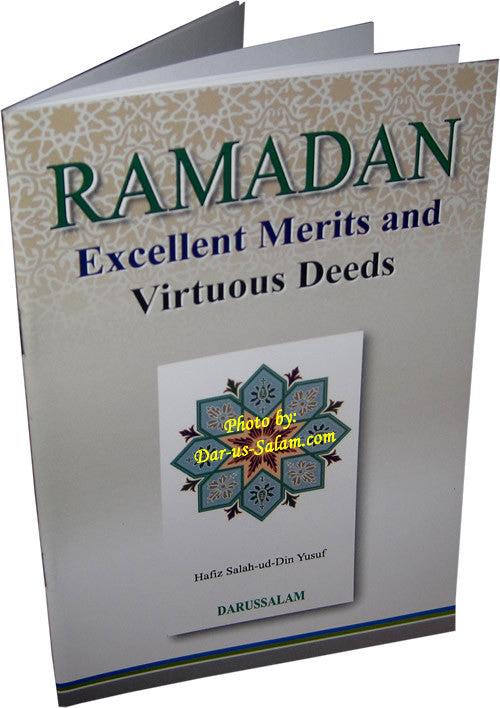 RAMADAN Excellent Merits and Virtuous Deeds - Arabic Islamic Shopping Store