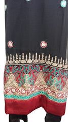 Special Occasions Chiffon Shalwar Kameez with Embroidery - Arabic Islamic Shopping Store - 3
